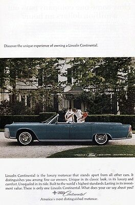 Ford Lincoln Continental 1970's - Vintage Ads # 202