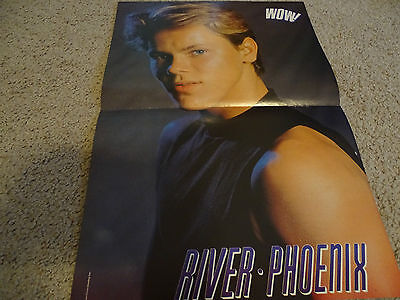 River Phoenix teen magazine poster clippings Tiger Beat Bop Free Shipping