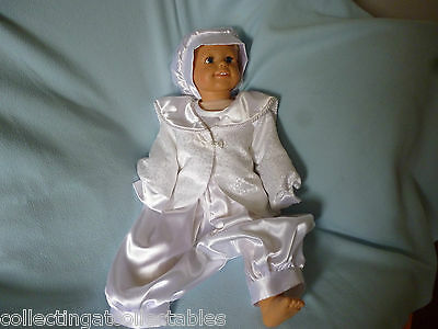 Childs Or  Dolls Christening Suit