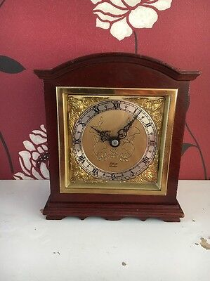 Mahogany Cased Elliott Clock 8 day with a platform
