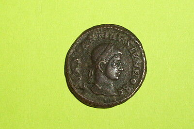RARE & CHOICE Ancient ROMAN COIN wreath CONSTANTINE II vot x VF siscia mint old