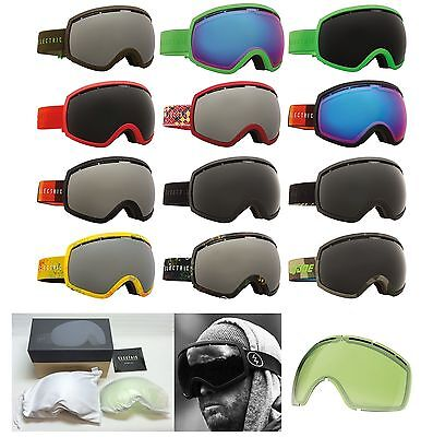 NEW Electric EG2 mens oversized ski snowboard goggles + lens 2016 Msrp$160