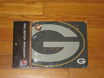 New Green Bay Packers Nfl Football Neoprene Mouse Pad