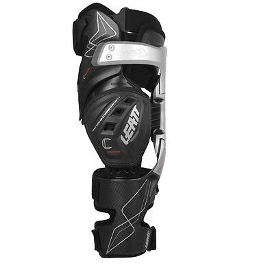 LEATT C-Frame Knee Brace PAIR Black Protection MX ATV Off Road Motocross MTB