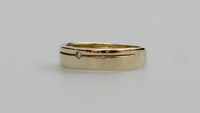 Men's 9ct Solid Gold Diamond Ring