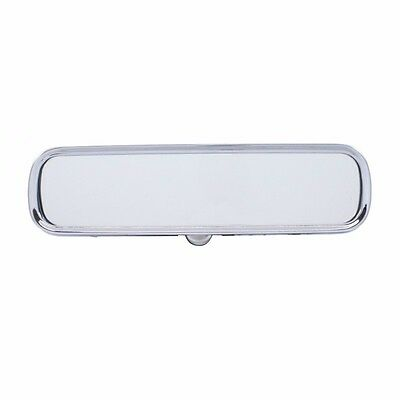 55 56 57 Chevy Custom Interior Chrome Inside Rear View Day Night Ribbed Mirror