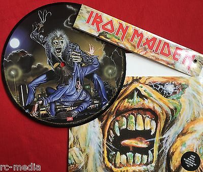 """IRON MAIDEN -Bring Your daughter To The Slaughter-  7"""" Picture Disc/Brain Pack"""