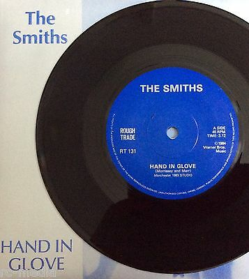 "The Smiths -Hand In Glove- Rare Export 7""/Solid Centre/Raised label/No Address"