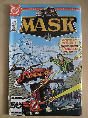 MASK : 1st MINI SERIES : #s 1,2,3 ( of 4 ). TV SERIES. DC.1985