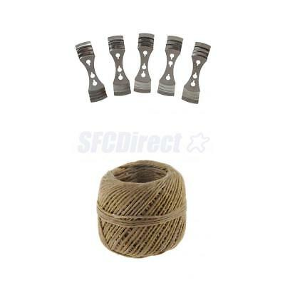 5 Metal Candle Wicks Holder Candle Holder+1pc Hemp Wick for Candle Making