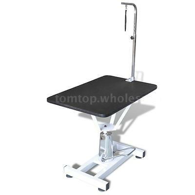 Hydraulic Bath Grooming Table for Dogs Cats Pets Adjustable Swivel Arm NEW O2T0