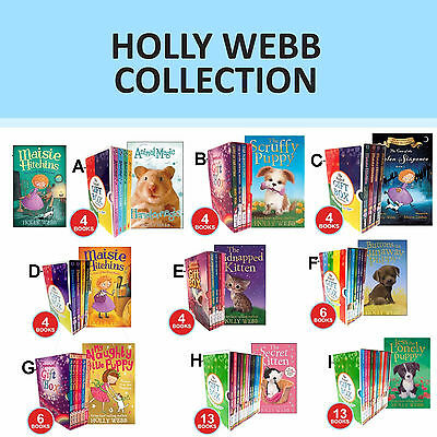 Holly Webb Collection Animal Magic ,Maisie Hitchins Set Gift Wrapped New Set