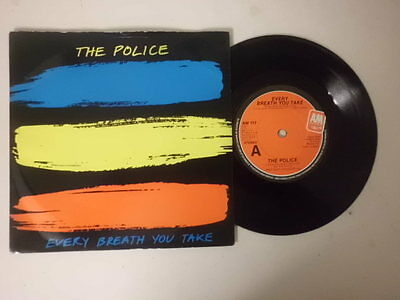 """The Police Sting 7"""" Single P/s * Every Breath You Take *"""