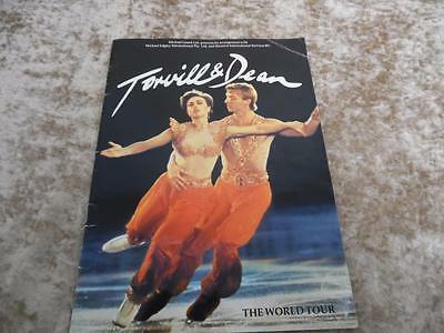 Torvill and Dean 1985 World Tour Official Programme.