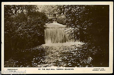 Old Mill, Yeoman Bearsted Village, Kent RP Lilywhite Postcard posted 1949