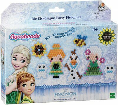 Lager1) Disney FROZEN - (30069) Die Eiskönigin Aquabeads Party-Fieber Set