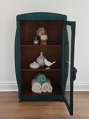 Cabinet Large Transformed painted in beautiful Deluge green  - Presiman Designs