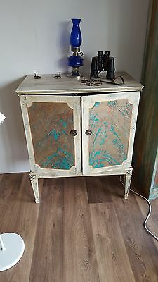 Stunning Rusted Effect Patina Cabinet