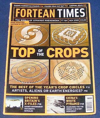 Fortean Times Ft164 November 2002 - Top Of The Crops
