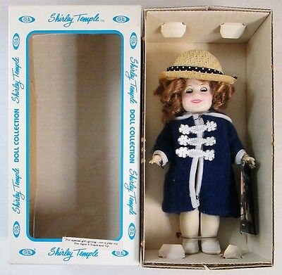 """1983 Ideal 8"""" Shirley Temple Poor Little Rich Girl Doll"""