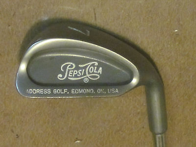 "GOLF CLUB  ""PEPSI COLA"" adv. Right Hand #7 Iron"