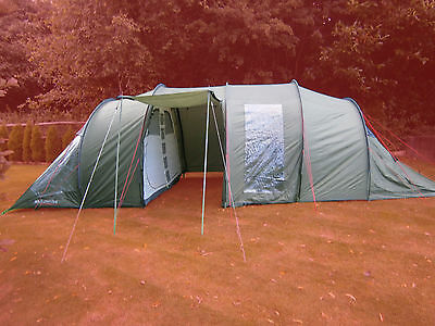 Eurohike Buckingham 8 Person Berth Family Outdoor Festival Camping Tent Rrp £400