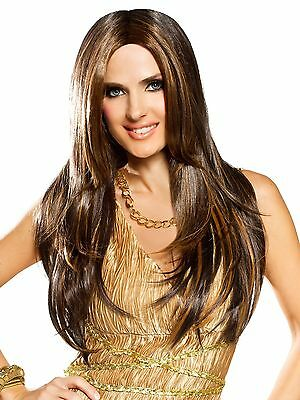 Red Carpet Mixed Brown Adult Wig for Fancy Dress