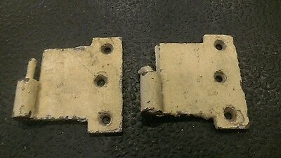 Antique VINTAGE  CAST IRON WINDOW SHUTTER Hinge LIFT OFF PIVOT INDUSTRIAL PART