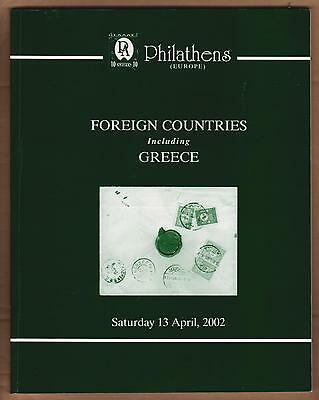 AUCTION CATALOGUE – FOREIGN COUNTRIES with GREECE