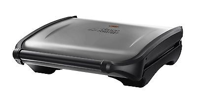 George Foreman 19932 Large 7 Portion Health Grill, Silver