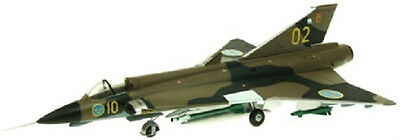Aviation72 Saab Draken J35F 10/02 35-602 Swedish Air Force Angelholm 1995 1:72