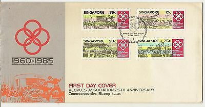 Singapore 1985 People's Association FDC