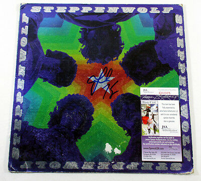 John Kay Signed LP Record Album Steppenwolf The Second w/ JSA AUTO