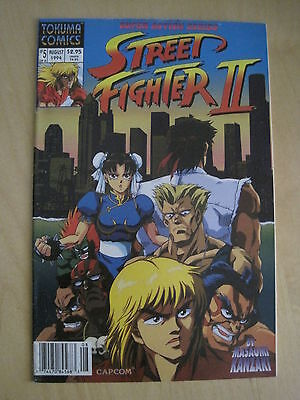 STREET FIGHTER II : issues 5 & 7. TOKUMA COMICS. 1994