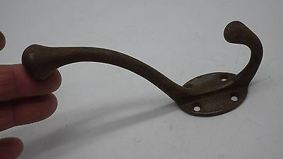 Antique Cast Iron  Hanger Hook Coat Rack Schoolhouse Vintage