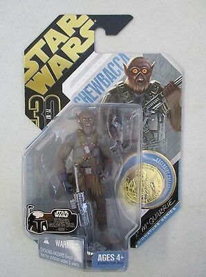 Moc 2007 Ultimate Galactic Hunt Star Wars Concept Chewbacca Action Figure W/coin