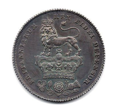 1826 Shilling, Proof Issue, George Iv, Rare