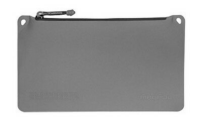 "Magpul MAG856 Medium 7"" x 12"" Polymer Fabric DAKA Pouch - Stealth Gray"