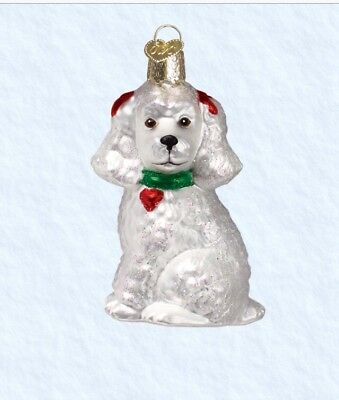 Poodle (12152) Old World Christmas Ornament