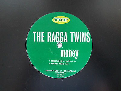 "The Ragga Twins Money 12"" Promo Single 1995 N/mint"