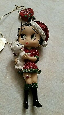 2010 Betty Boop Christmas Ornament Danbury Mint NIB