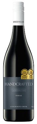 Handcrafted by McGuigan Shiraz 2013 (6 x 750mL) Langhorne Creek SA