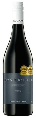 Handcrafted by McGuigan Shiraz 2013 (6 x 750mL)Langhorne Creek SA • AUD 69.89