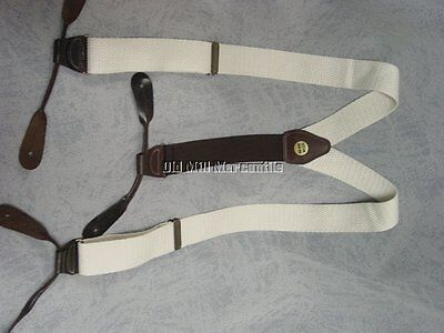 Old West Victorian Civil War reenactment mens braces suspenders MADE IN USA