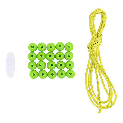 20Pcs 9mm Silicone BPA Free Round Beads Necklace Baby Safe Chew Teether New