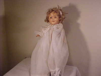 """1930's  Composition 13"""" Shirley Temple Doll Original"""
