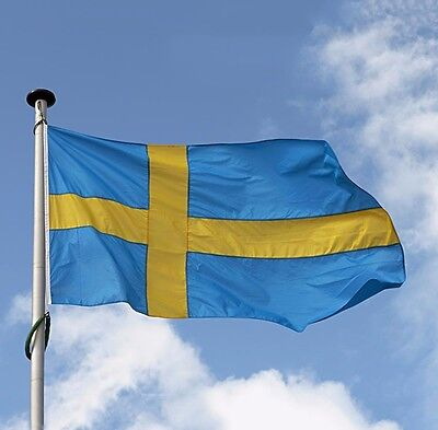 Sweden Flag Polyester the Swedish National Banner 3x5' Feet Banner wall sticker