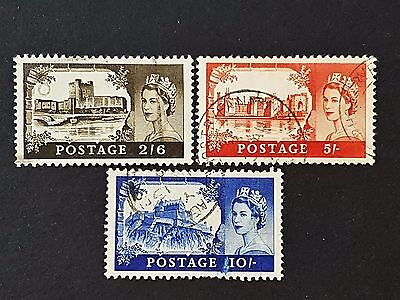Great Britain GB UK 1967 Sg # 525 to Sg # 527 Fine Used Stamps Set Collection