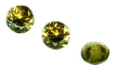 RARE 19thC Antique ¼ct Demantoid Gem of Ancient Anglo-Saxon Frank Norman German