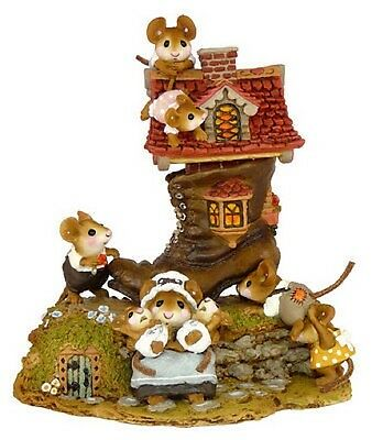 Wee Forest Folk Little Mice Who Lived in a Shoe